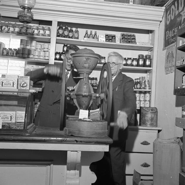 Governor Aiken at the Vermont Country Store