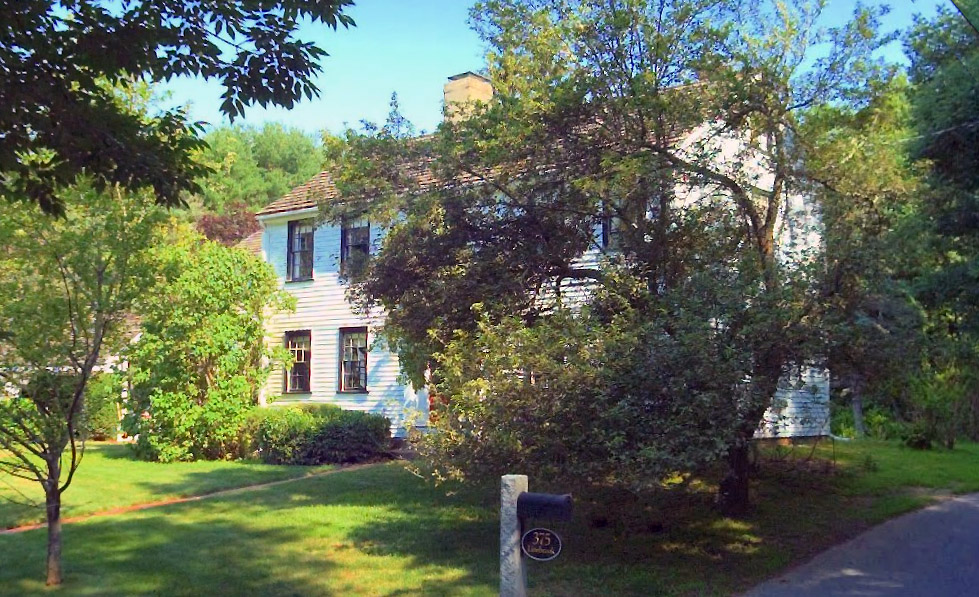 375 Linebrook Rd., the Thomas Foster house (1800)