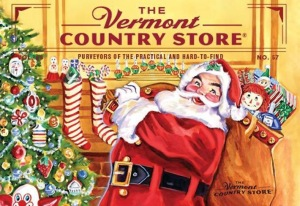 Santa at the Vermont Country Store