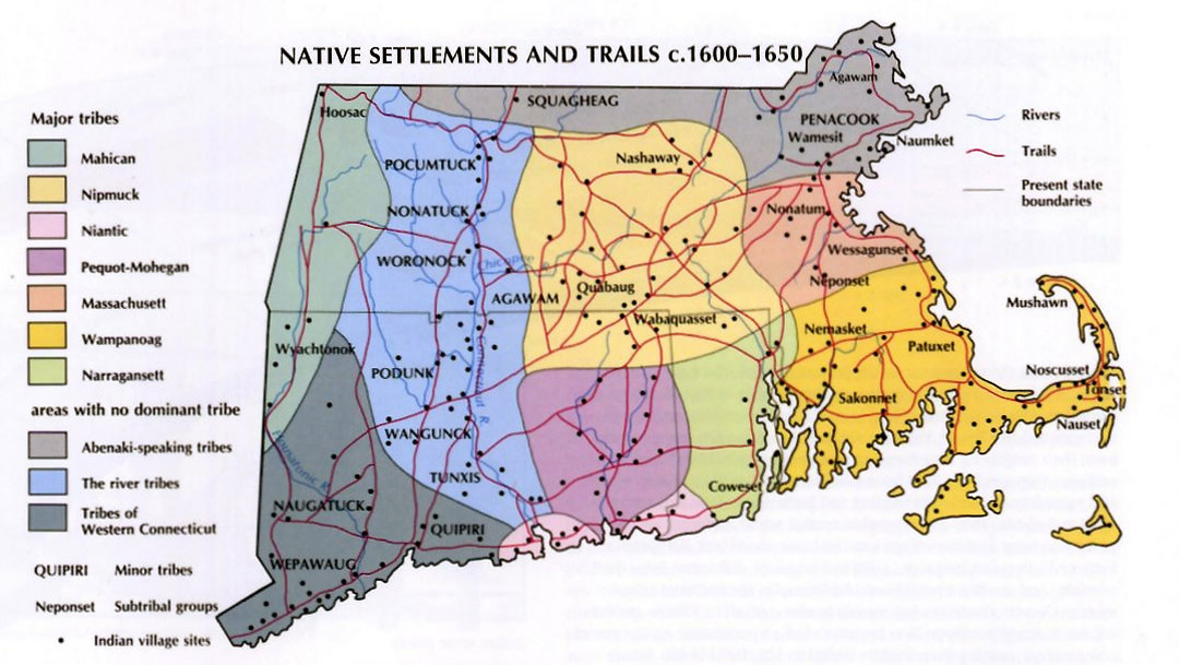 native americans of the massachusetts north shore