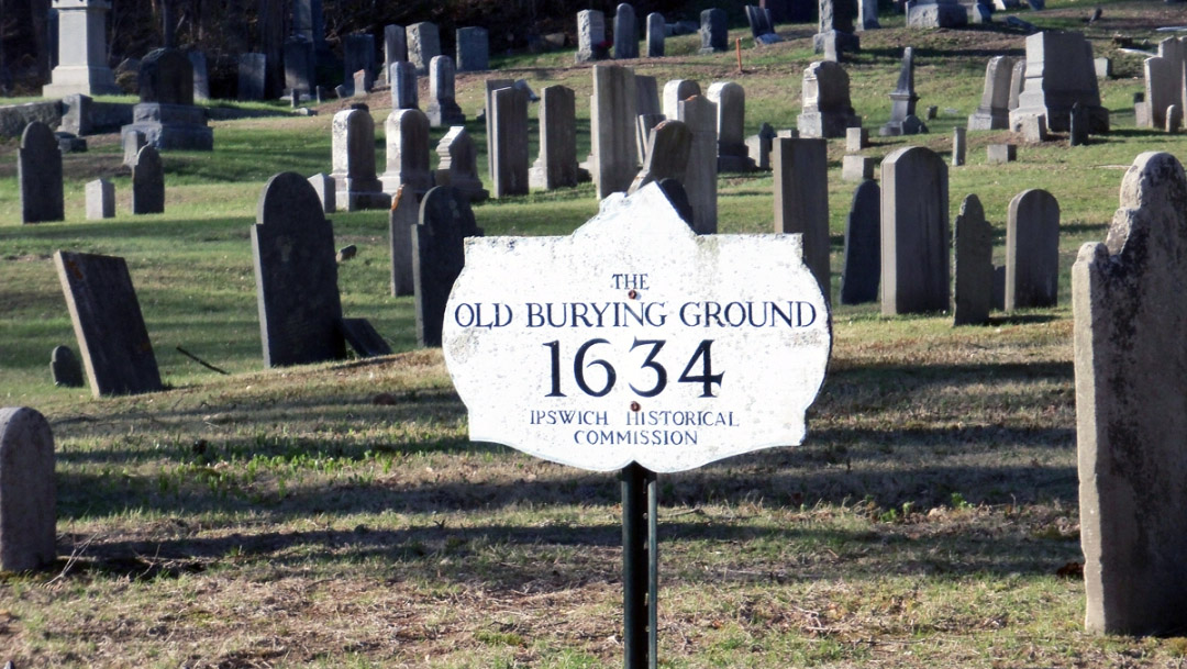 Tour of the Old North Burying Ground, Oct. – Nov. 2021