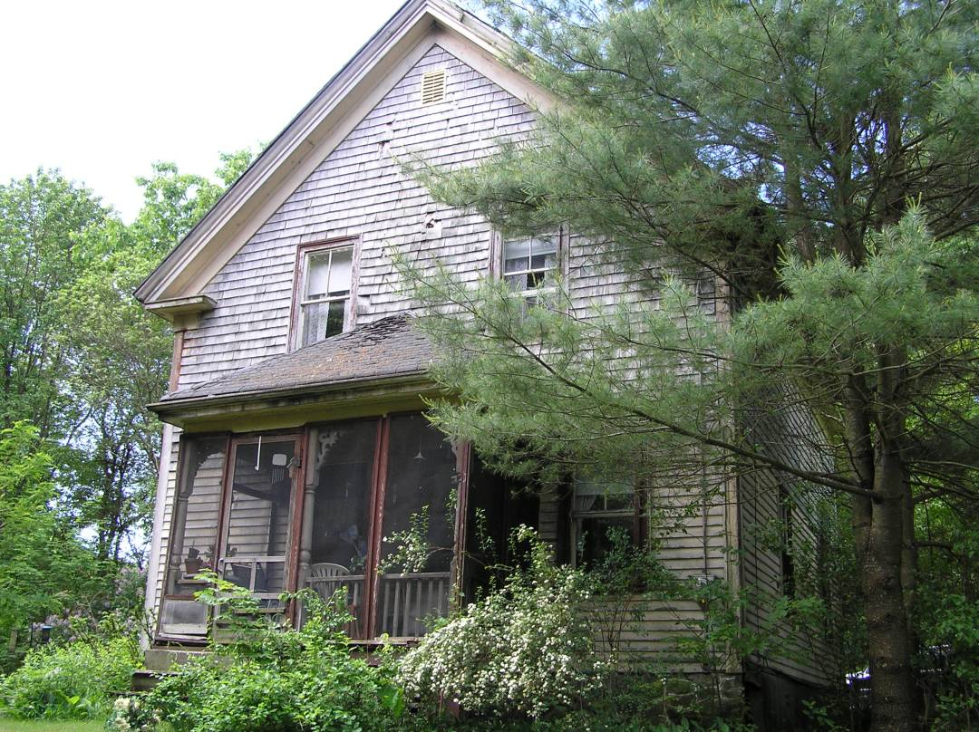 Abandoned Tenney home, Linebrok Rd. Ipswich MA
