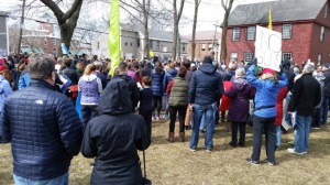 March for our Lives protest against gun violence Ipswich MA