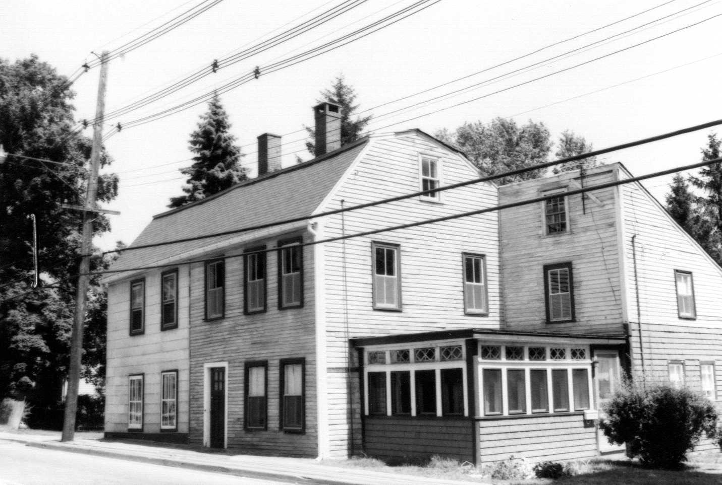Abraham Knowlton house in 1978