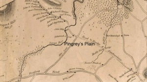 Pingrey's Plain, where the wicked were hung in Ipswich