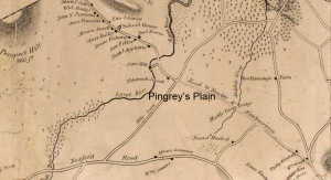 Pingreys Plain Ipswich map