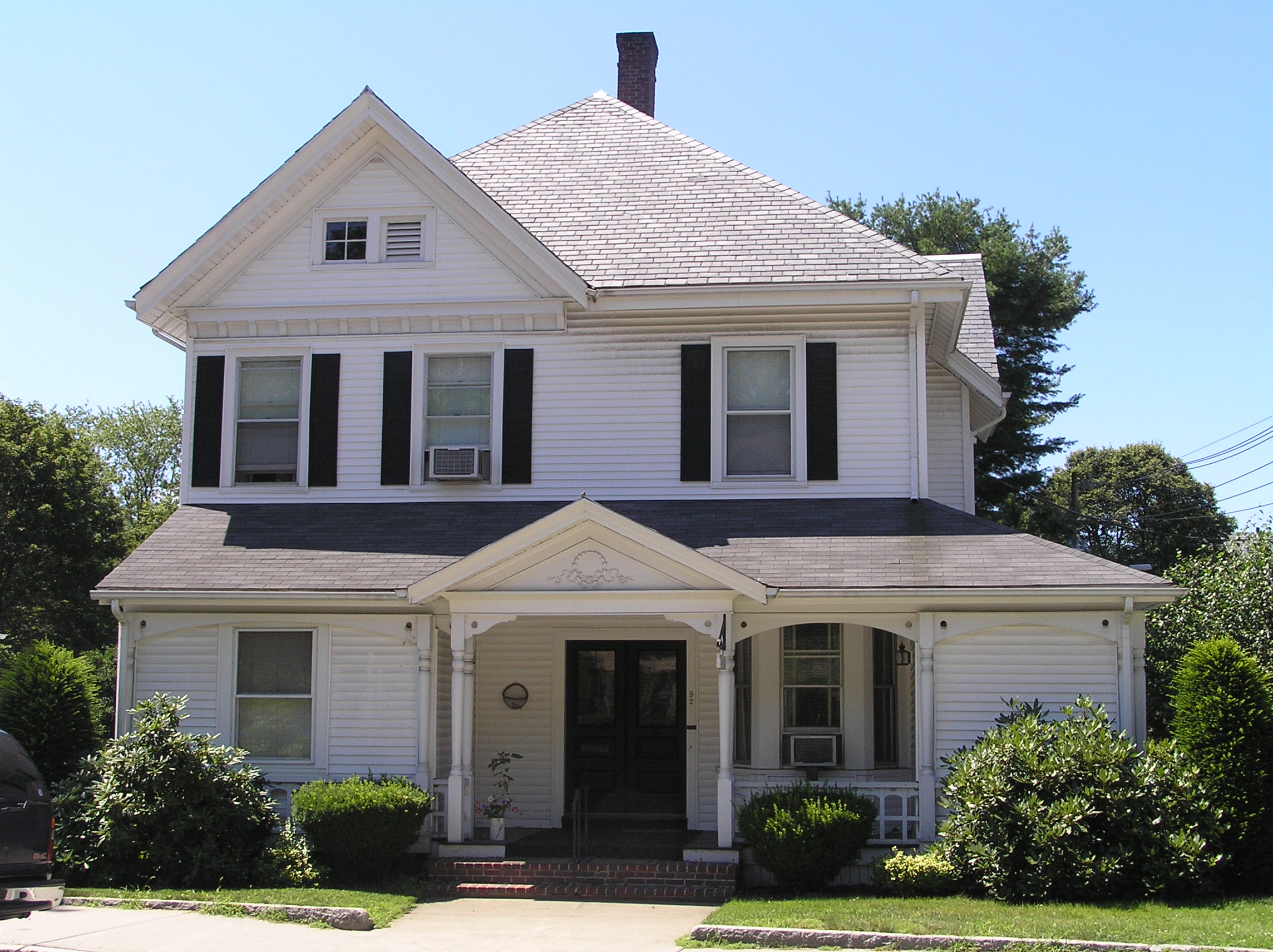 The Lord - Brown house at 90 Central Street
