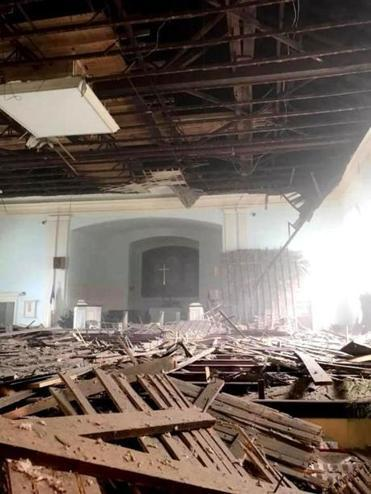 Ipswich MA church ceiling collapses