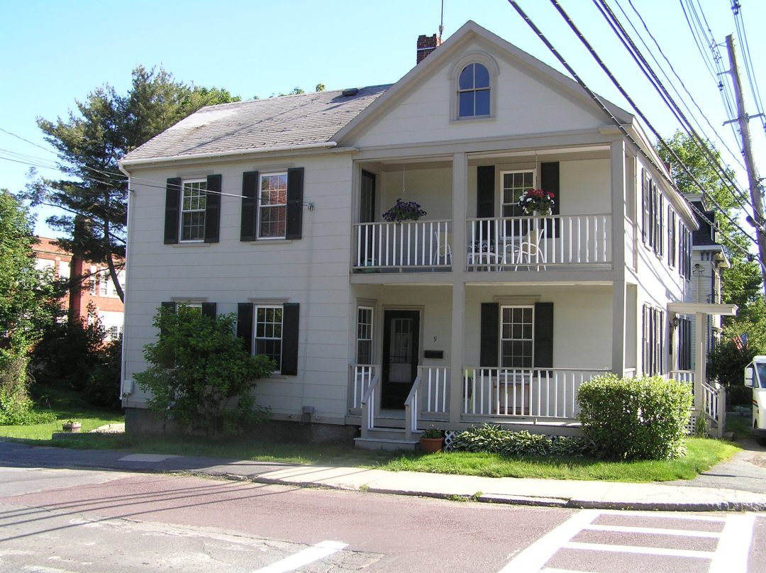 Holland-Cogswell house, corner of Green and County Streets, Ipswich MA
