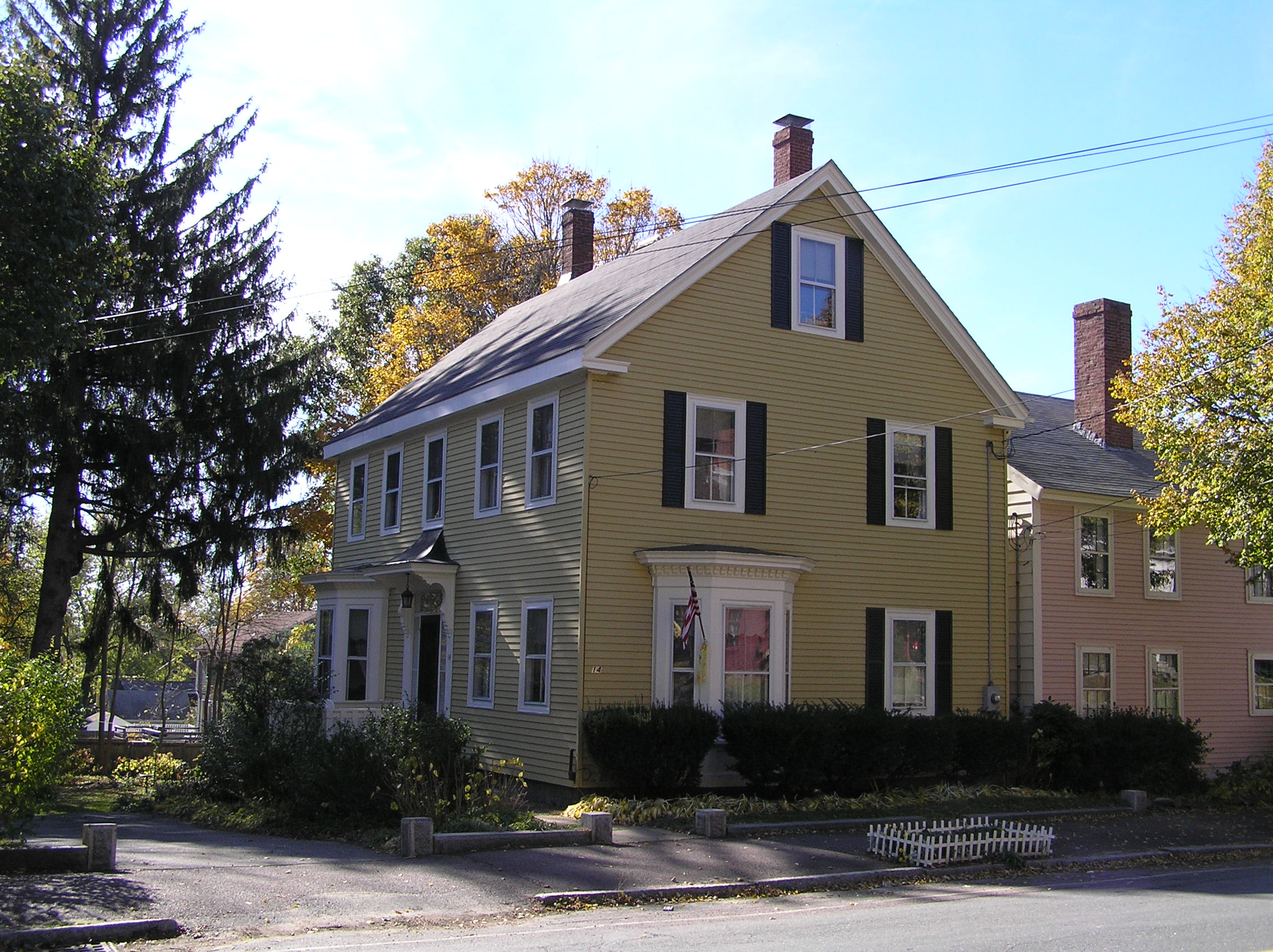 The George Lord house, 14 High Street, Ipswich MA