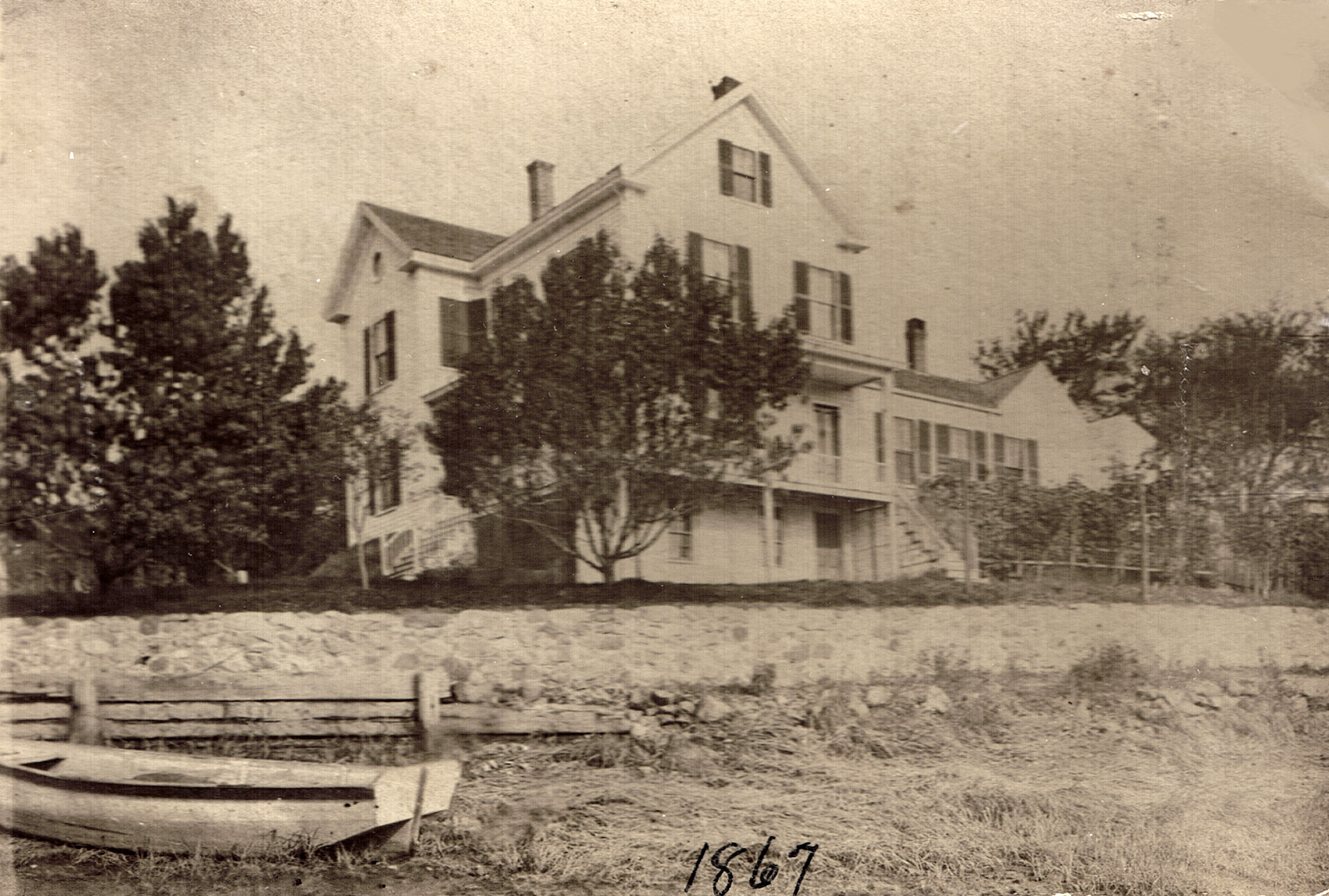 The Ellsworth house, 6 Hovey St., Ipswich
