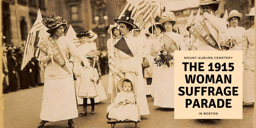 1915 Womens suffrage parade in Boston