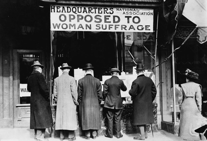 November 2, 1915: Massachusetts women are denied the right to vote