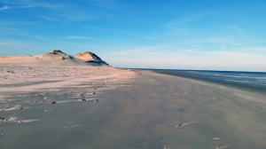 Two dunes and Crane Beach
