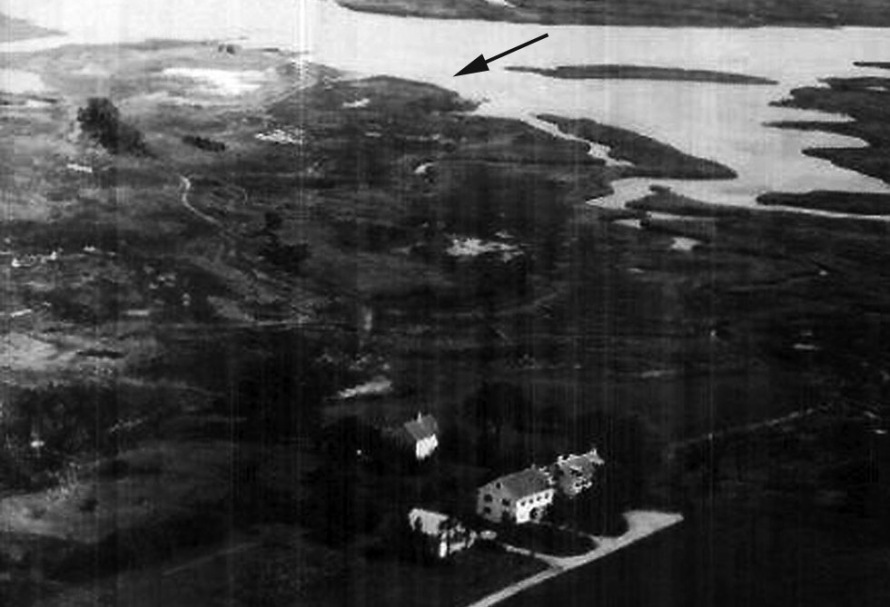 1920 Ipswich MA aerial photo