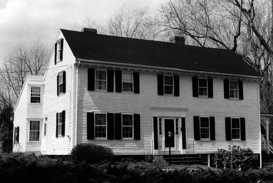 The Rogers-Rust house in 1978