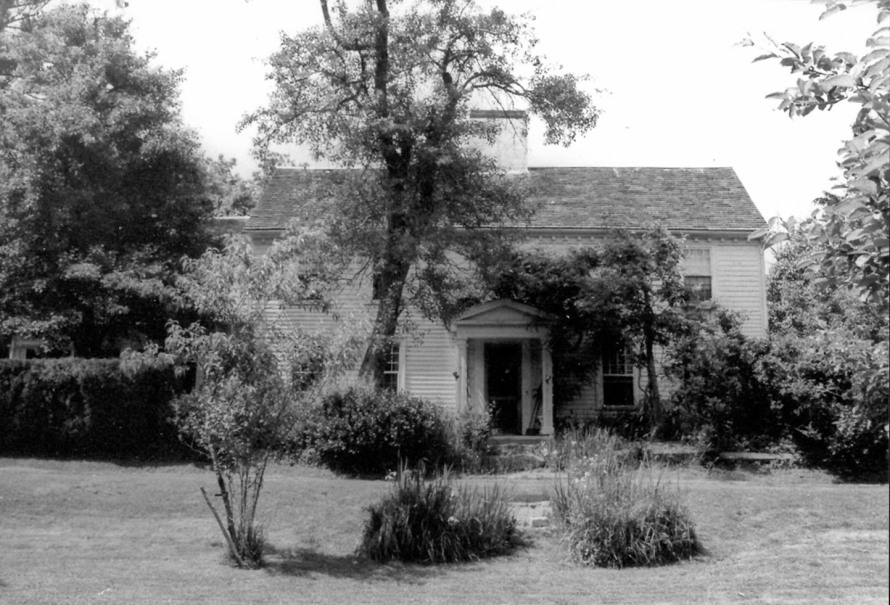 The Tilton Smith house on Argilla Road in 1980