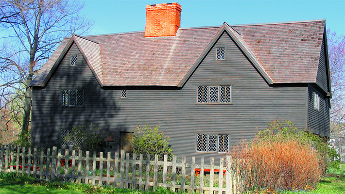 The Whipple House on the South Green in Ipswich MA