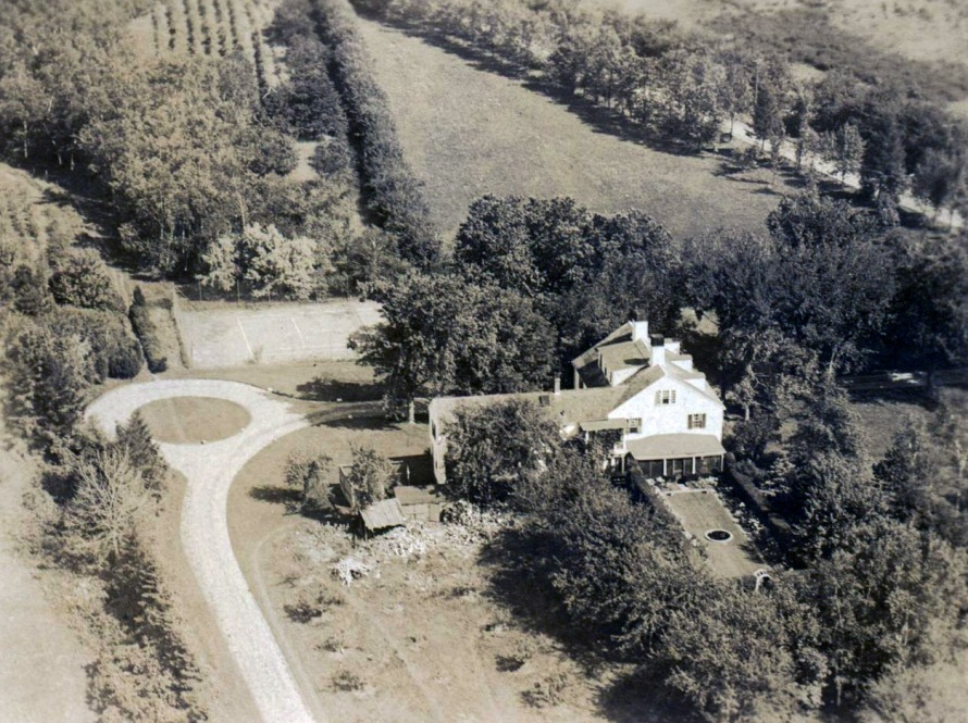 Aerial view of 188 Argilla Road Ipswich MA