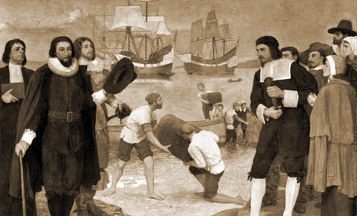 Arrival of the English