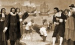 Arrival of English Puritans in New England