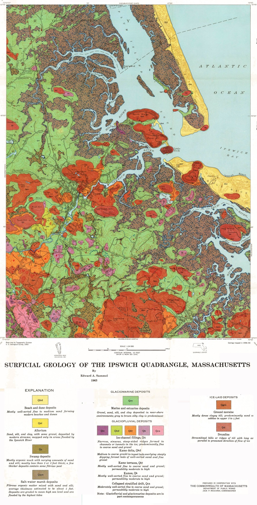 USGS Geologic Quadrangle Map GQ-189