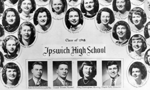 Ipswich MA high school class of 1948