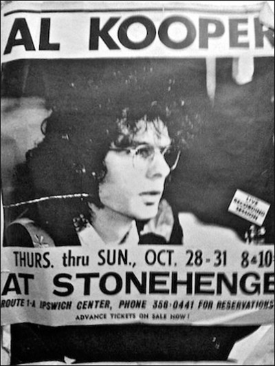 Al Kooper at Stonehenge in Ipswich