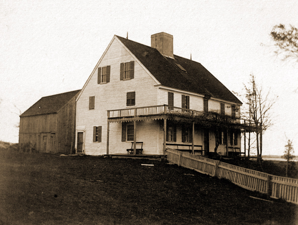 The Choate house on Hog Island (Choate Island), Ipswich MA