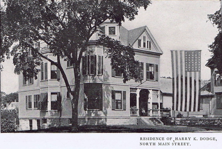 the Harry Dodge house, North Main St. in Ipswich MA