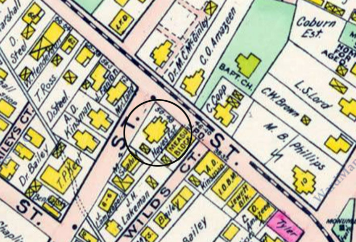 hayes-house-central-1910-map