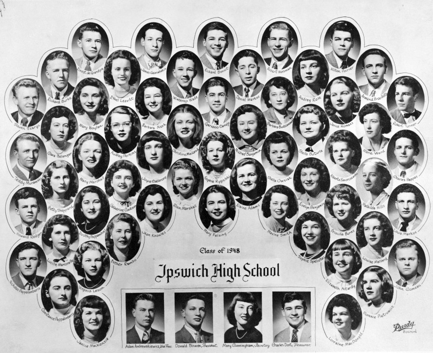 Ipswich High School class of 1948