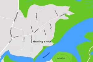Newmarch Street in Ipswich MA was once known as Manning's Neck