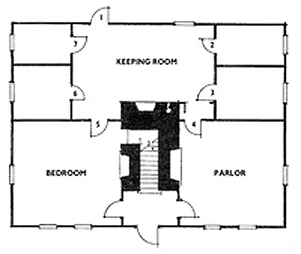 colonial-cape-layout
