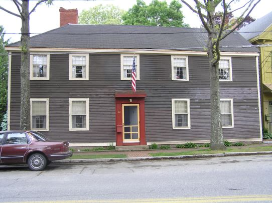 Treadwell-Hale house, North Main St., Ipswich MA