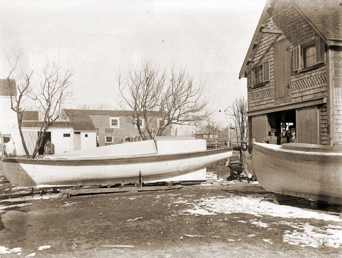 Water St. boat Shop Lewis Choate
