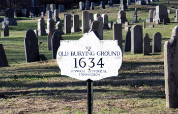 Old North Burying Ground Ipswich