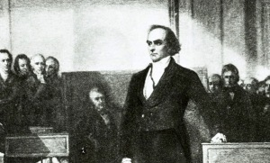 Daniel Webster at court