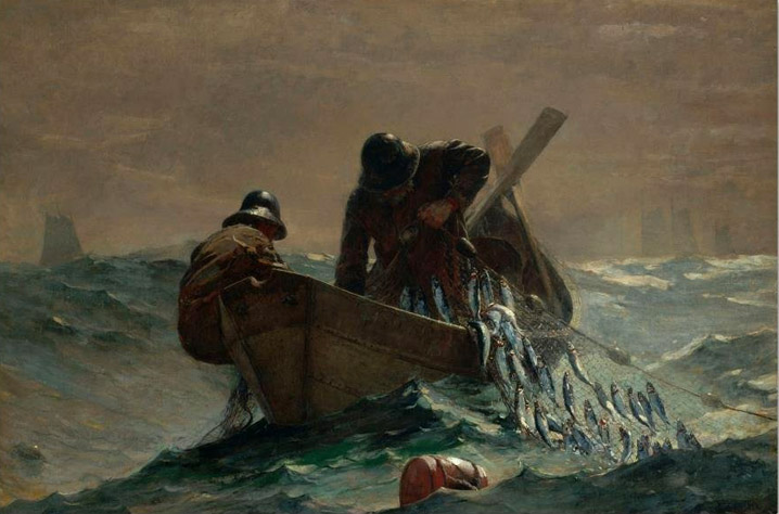 herring-net-winslow homer