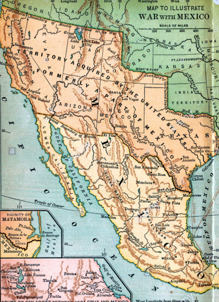 Mexico before the Mexican-American War