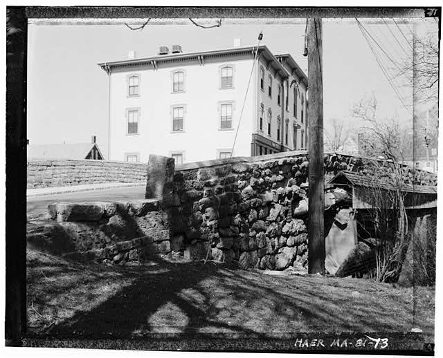 Choate Bridge,  Historic American Engineering Record (HAER), Library of Congress