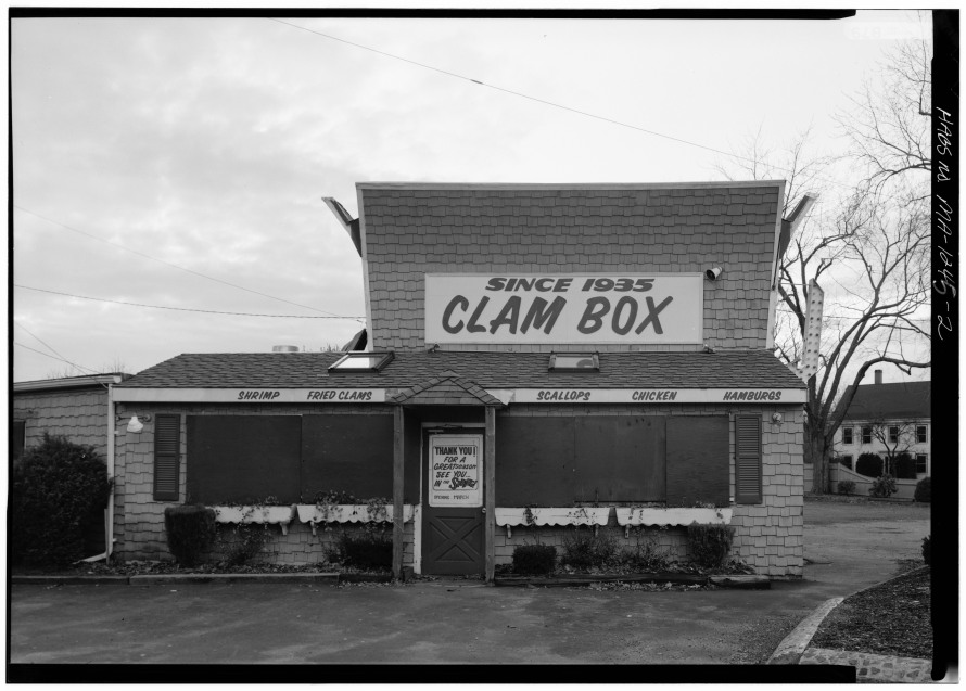 Ipswich Clam Box 1945 from the Library of Congress site