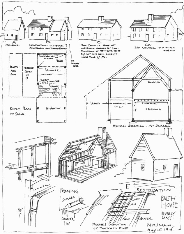Expansion of the Balch house in Beverly MA