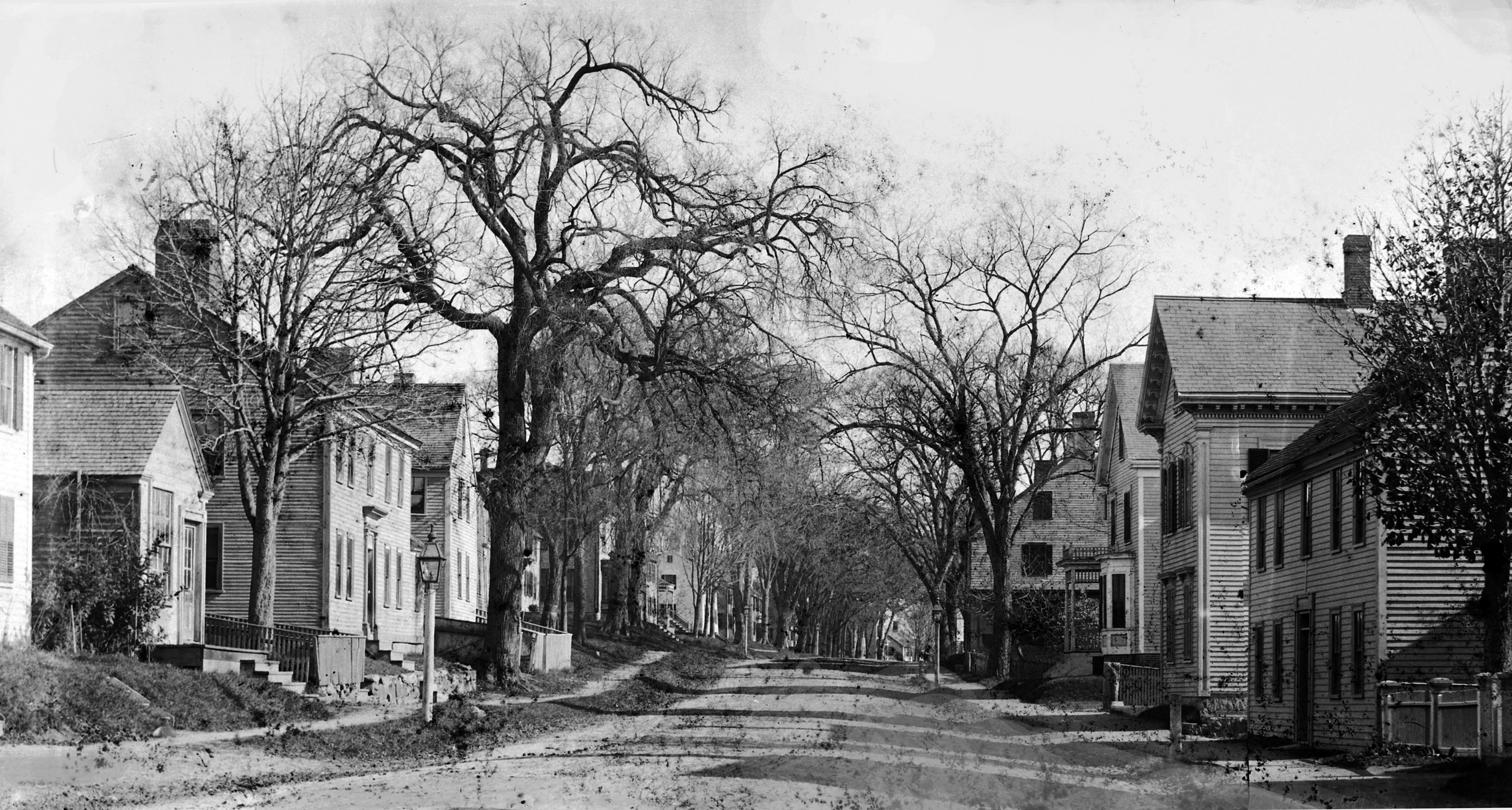 High Street in the 19th Century