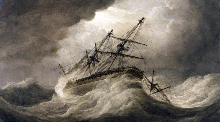 The Great Colonial Hurricane and the wreck of the Angel Gabriel