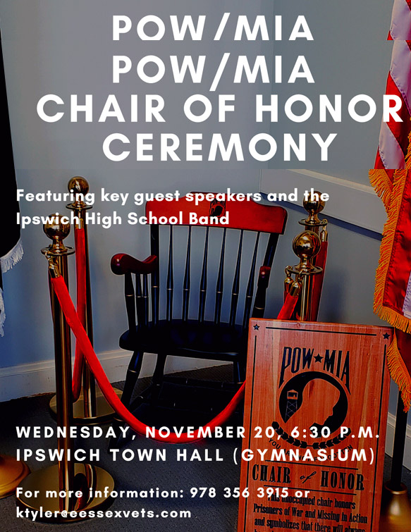 Chair of Honor ceremony