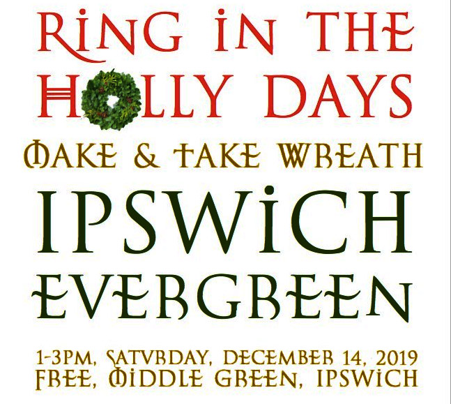 Ipswich Evergreen wreaths 2019