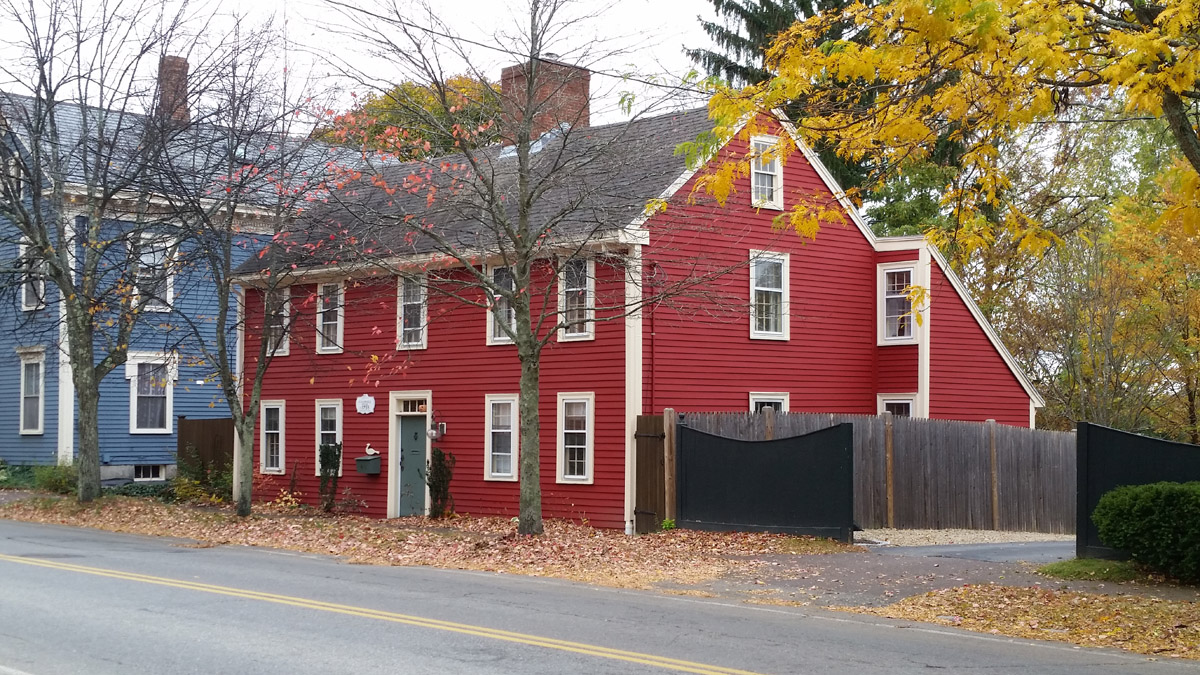 The William Caldwell house, High St., Ipswich MA