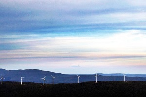 Berkshire wind turbines on Brodie Mountain
