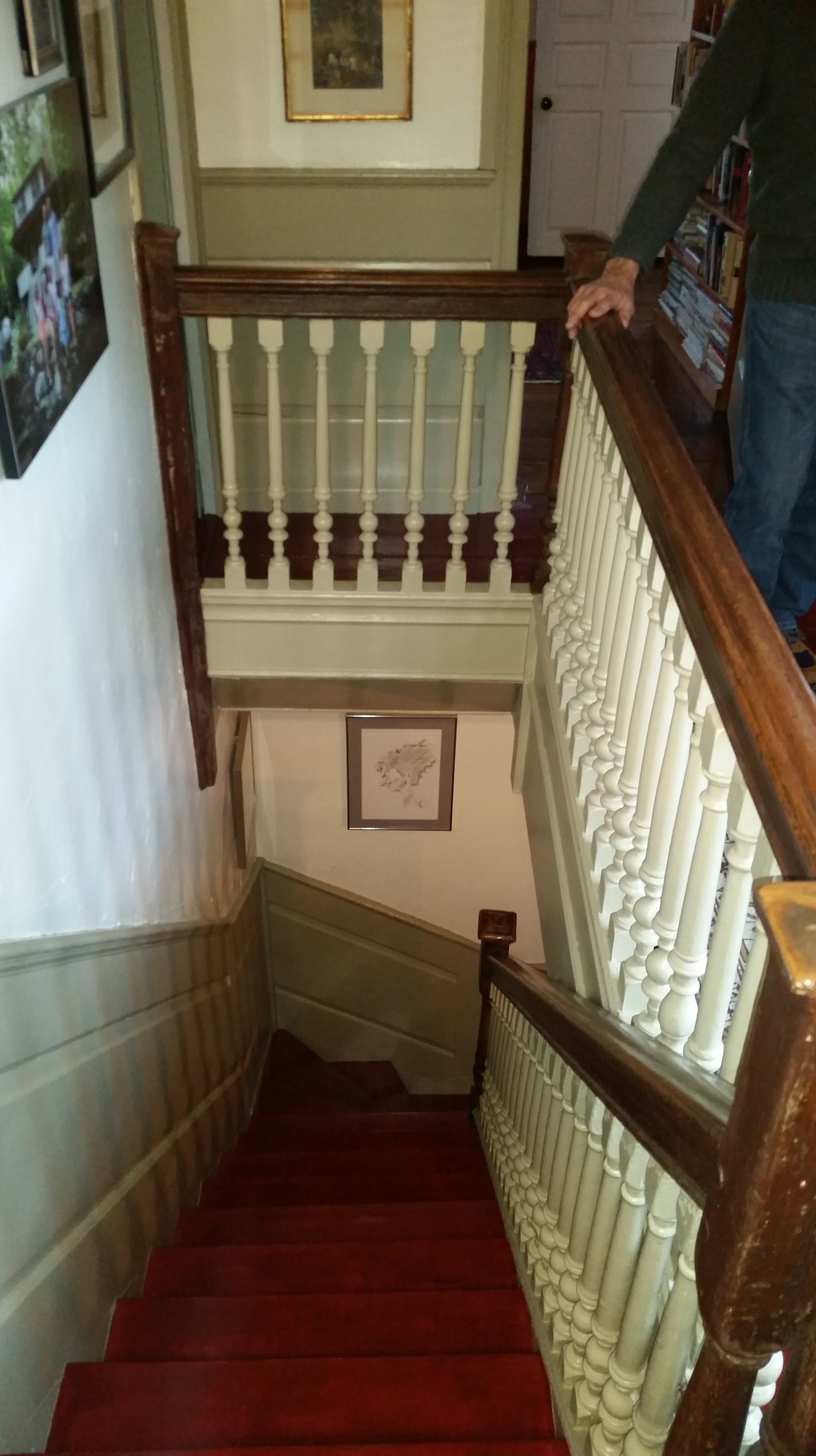 Stairway at 62 East St.
